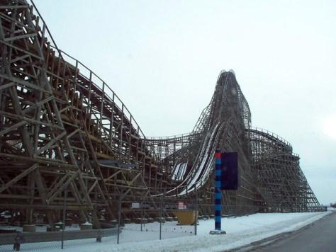Cedar Point - Off-Season Mean Streak