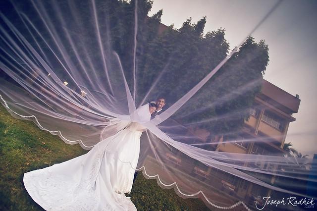 The angelic bride.