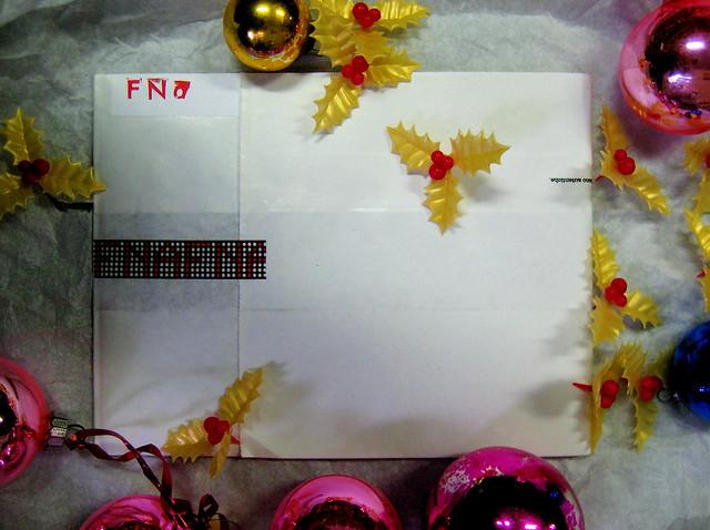 about, blocknotes; a cura di Federico Novaro, progetto grafico di Stefano Olivari, packaging di Cristina Balbiano d'Aramengo, blocknotes, 18 p. ill. col (part), christmas version, 1