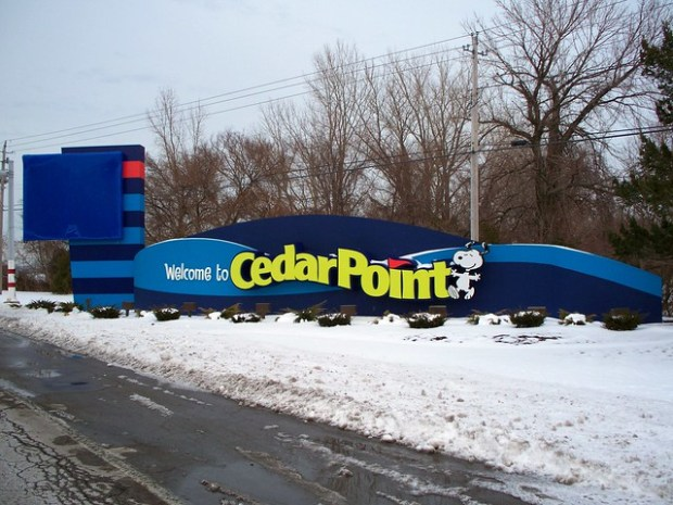 Cedar Point - Off-Season Welcome Sign