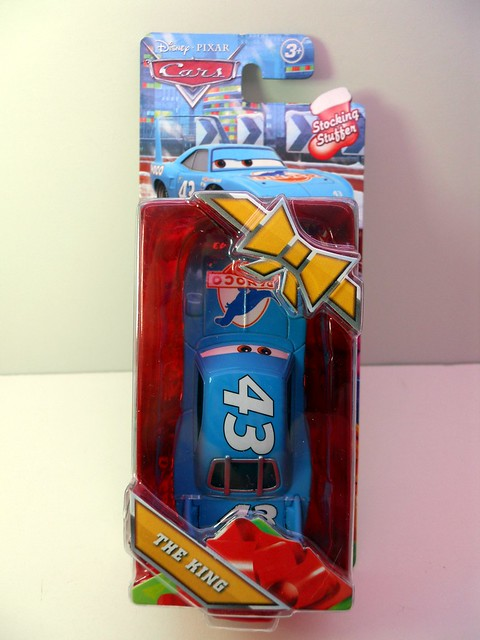 Target Exclusive Disney CARS Christmas The King Stocking Stuffer (2)