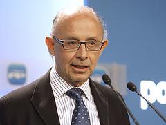 Cristobal Montoro, Secretario de Economía y Ha...