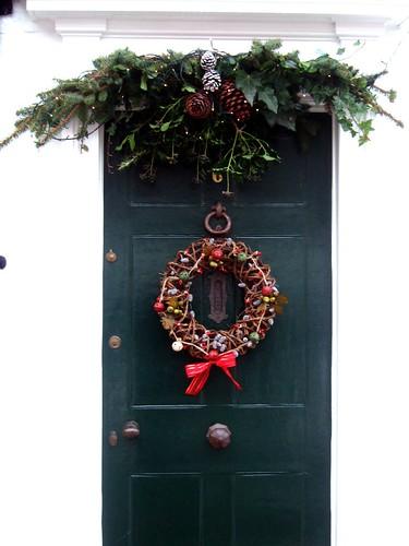 Rochester Christmassy Door