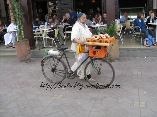 doughnut seller and cafe
