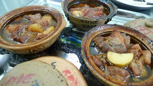 Caramel pork, a dish from Hanoi
