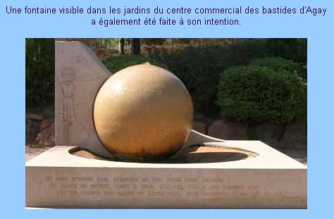 Fontaine du Petit Prince à Agay