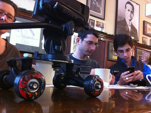 DIY Camera Dolly at #bmm