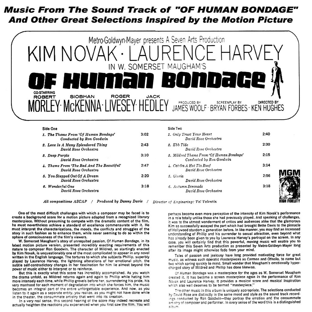 Ron Goodwin - Of Human Bondage