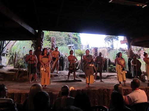Mitai cultural performance