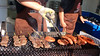 Photo:#9129 grilling meat By