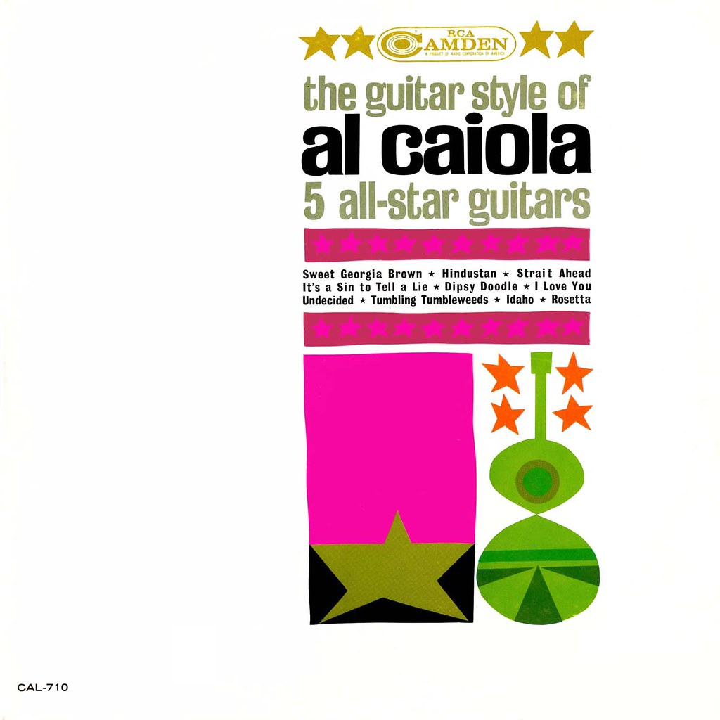 Al Caiola – The Guitar Style of Al Caiola