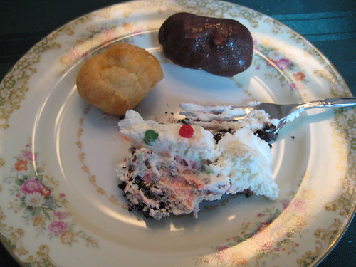 dessert on Christmas day