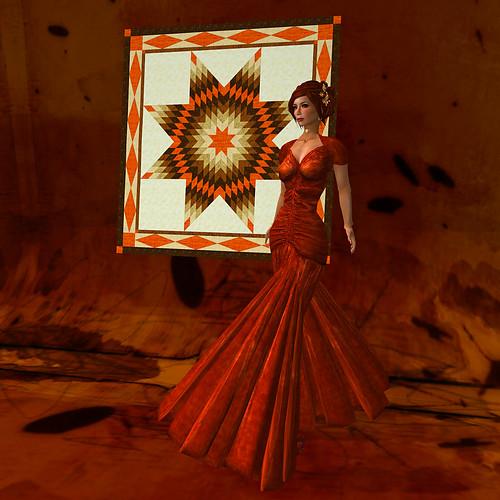 Sedona Star (1) - Color Challenge Sienna
