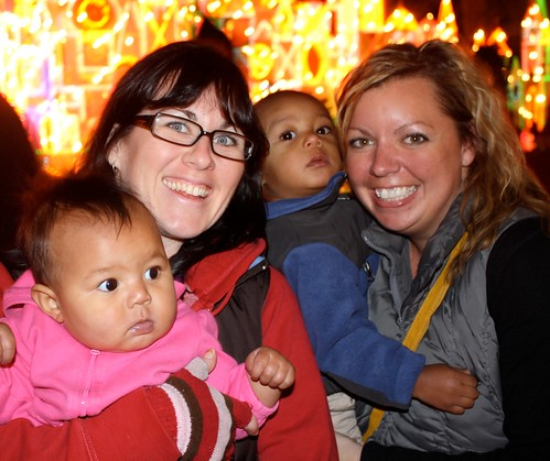 What better way to experience Small World Holiday than with Emory and Moses?!
