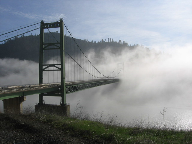 A bridge near Lake Oroville