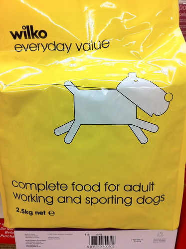complete food for adult working and sporting dogs