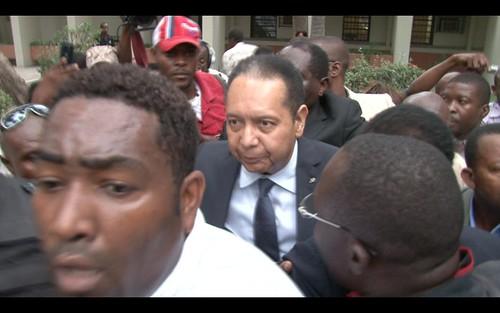 Duvalier at Court