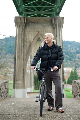 Todd at St Johns bridge