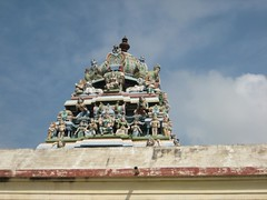 Ambal shrine Vimanam