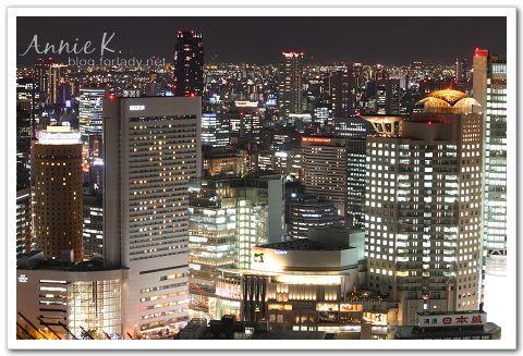 新梅田城 空中展望台 夜景