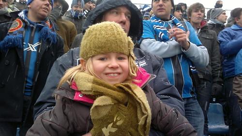 Elle voor het eerst op Club Brugge