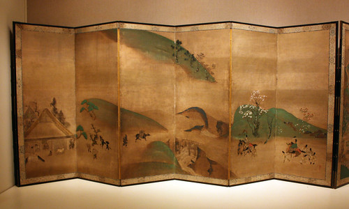 Royal Visit to Ôhara, from The Tale of the Heike