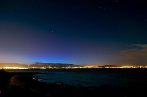 ISS over Belfast