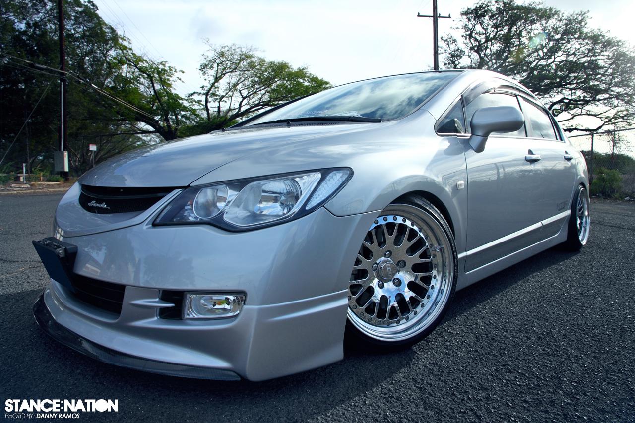 Car Rims And Tires Wallpaper Honda Civic X Ccw Classic Stancenation Form Gt Function