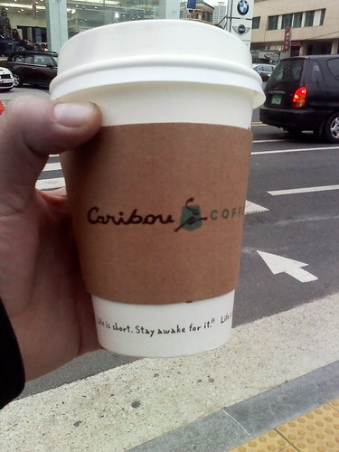 Caribou Coffee in Korea!
