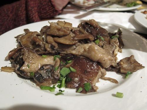 Pan Fried Wild Seasonal Mushrooms