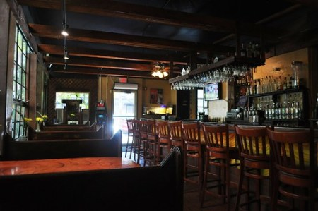 Bar of the Garden Restaurant, St. Petersburg, Florida