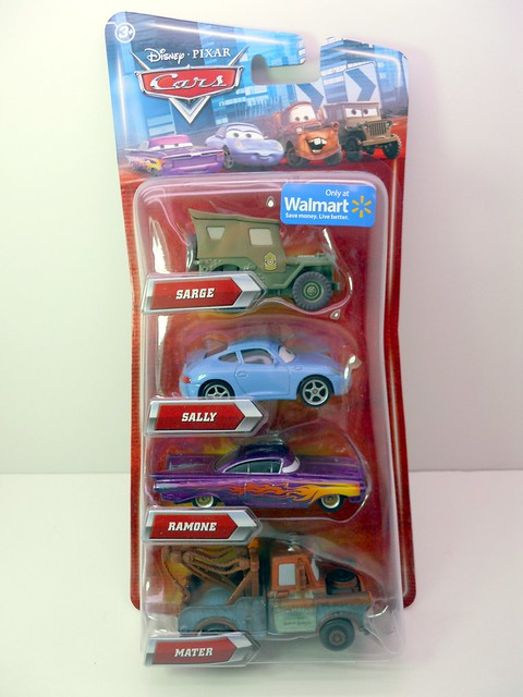 disney cars wal mart exclusive townies 1 4 pack (1)