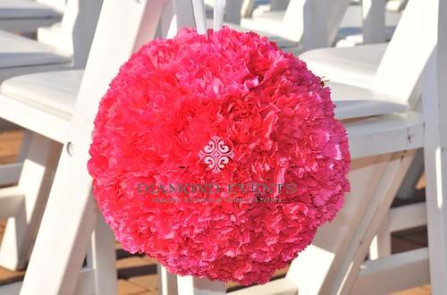 Pink Pomander Ball