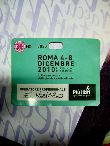 Roma, Fiera +L+L, 7.12.010
