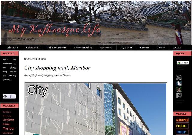 這是尼的粉紅色網誌,大抵是用來放景物的照片,會附上一些簡短的簡介。