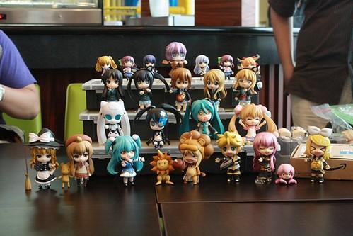 Nendonesia's 1st Gathering Nendoroid family photo