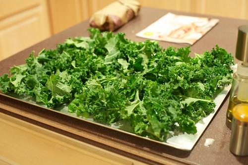 More prep kale