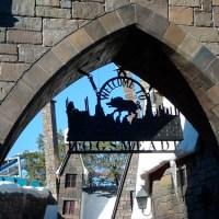 Butterbeer in Harry Potter Land!