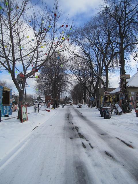 Heidelberg Street, Sunday Morning