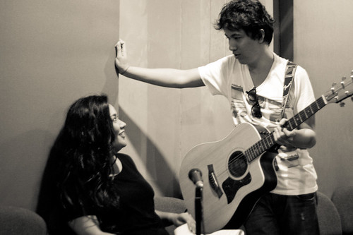 Ely Buendia and Radha