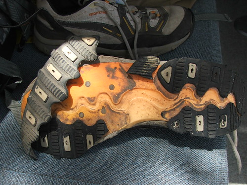 Destroyed Hiking Shoes