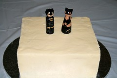 Batman and Catwoman Cake topper