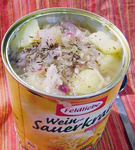 Sauerkraut suppe