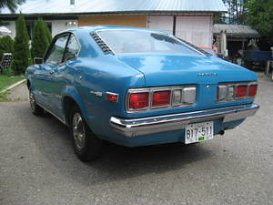 1972 Mazda 808 Coupe rear