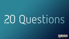 Twenty questions I ask myself every day