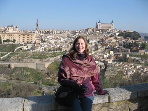 Overlooking Toledo