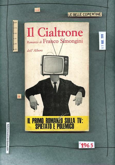 Franco Simongini, Il cialtrone. dell'Albero 1965. Prima di sovracoperta