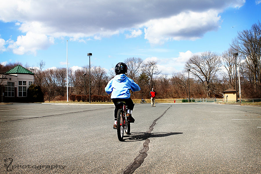 Learning to ride a bike (4)