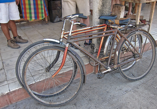 Antiguo Bicicletas