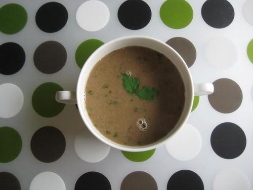 Vegan Mushroom Soup (freezer stash)